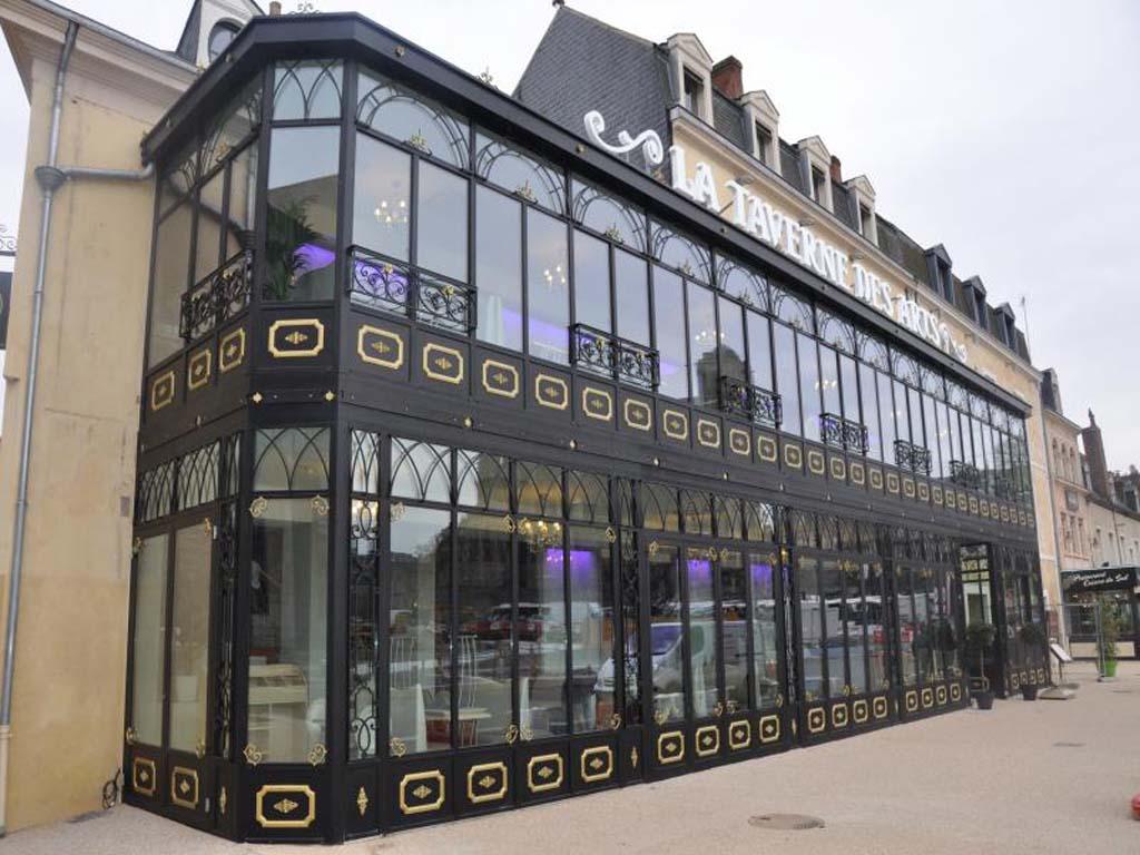 Le Mans : Externalisation des murs du restaurant la Taverne des Arts