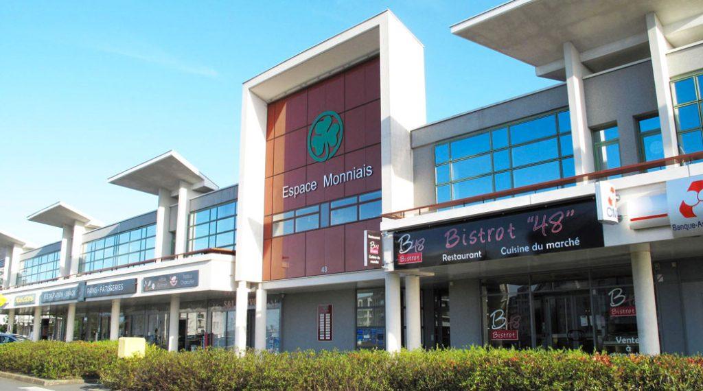 Cesson-Sévigné : Vente murs commerciaux loués à une agence Crédit Agricole
