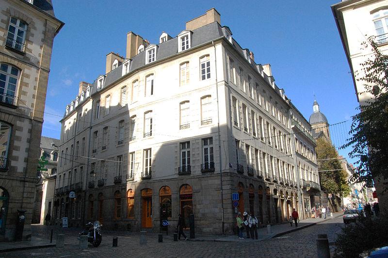 Rennes : Vente murs bar de nuit rue de Montfort