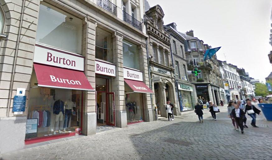 Saint-Brieuc : Vente des murs du Burton rue Saint-Guillaume
