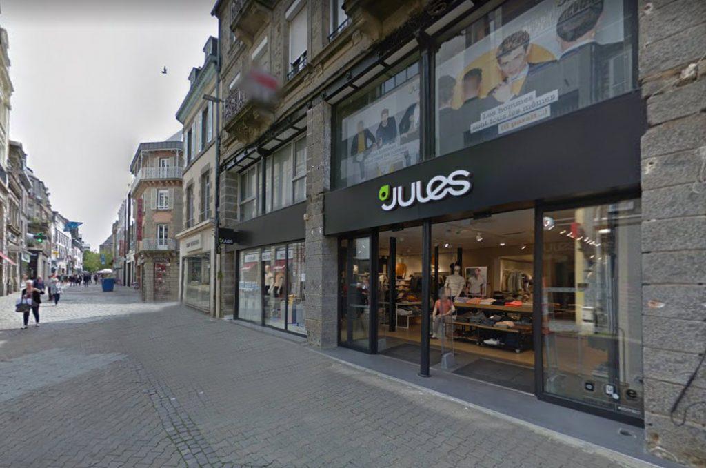 Saint-Brieuc : Une foncière privée acquiert les murs de la boutique Jules