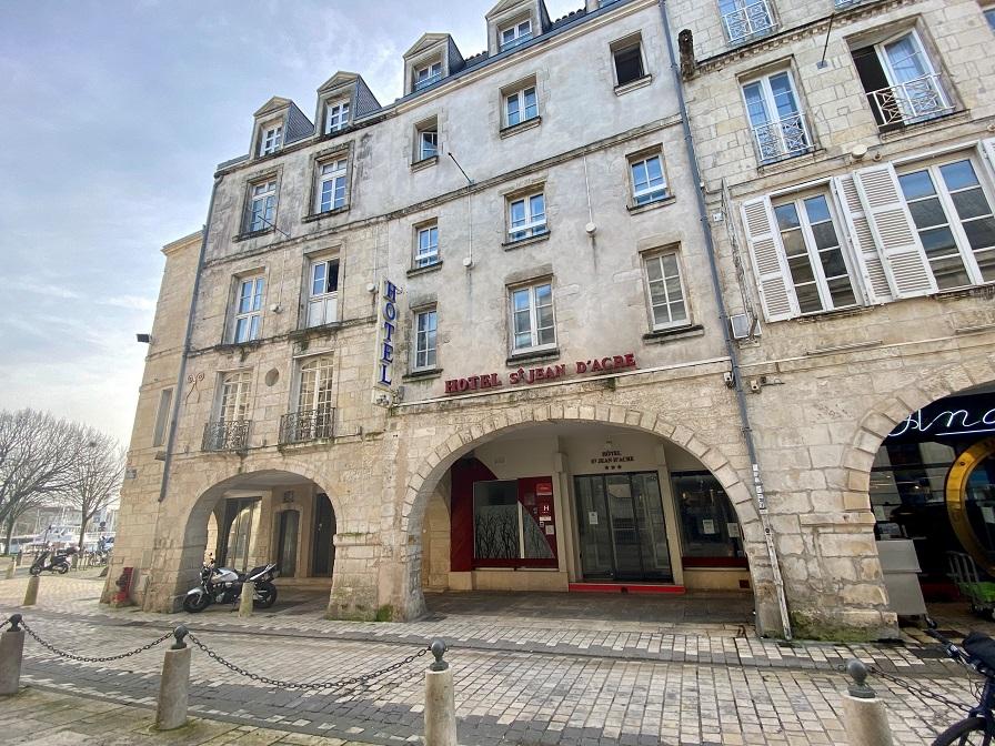 La Rochelle : l'Hôtel Saint-Jean d'Acre change de mains