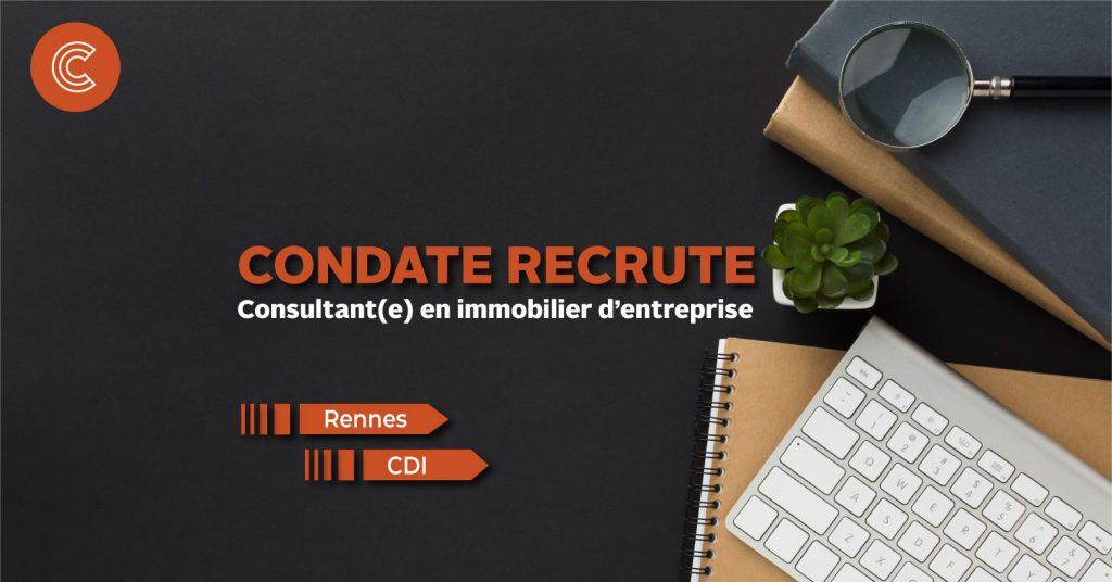 Nous recrutons un(e) Consultant(e) en immobilier d'entreprise !