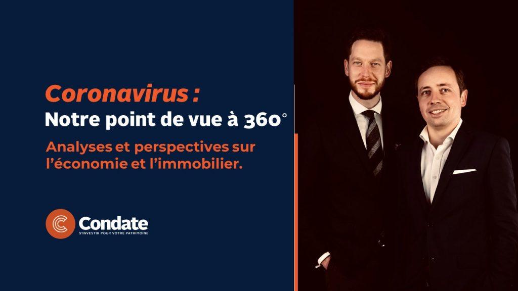 Coronavirus : Notre point de vue à 360°