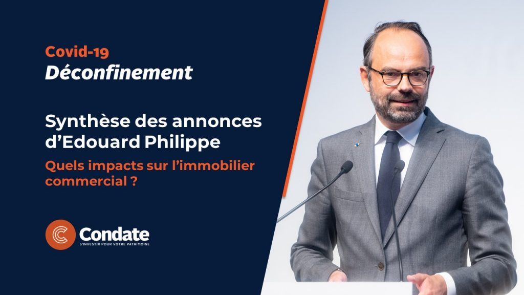 Déconfinement : Synthèse des annonces d'Edouard Philippe