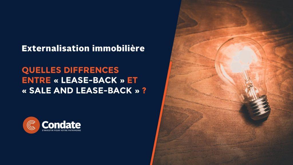 Externalisation immobilière : Quelles distinctions entre « lease-back » et « sale and lease-back » ?
